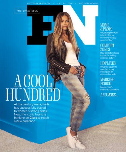 Ciara Covers Footwear News1