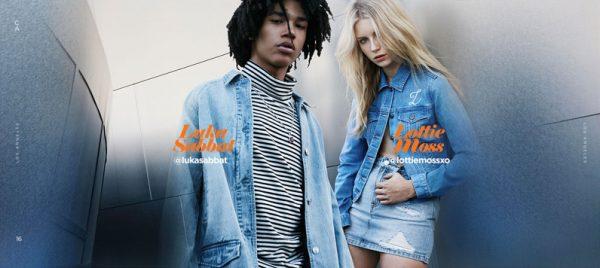 Fashion Model Luka Sabbat Fronts Pacsun's Fall Winter 2016 Ad Campaign 2