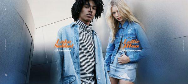 Fashion Model Luka Sabbat Fronts Pacsun's Fall Winter 2016 Ad Campaign 5