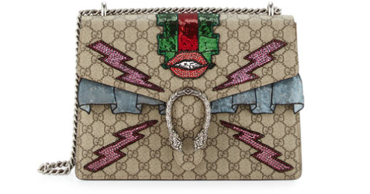 Gucci Dionysus Embroidered Supreme GG Shoulder Bag2