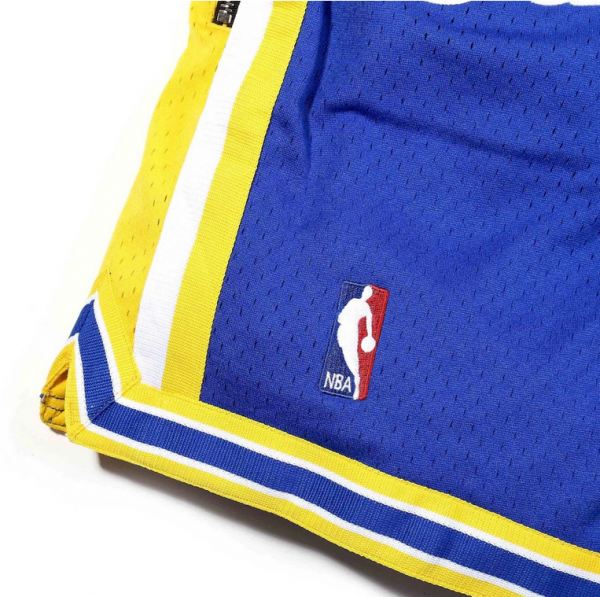 Just Don Golden State Warriors Basketball Shorts4