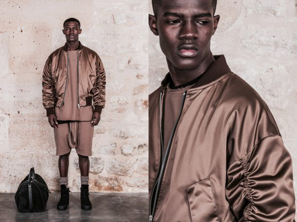 Model Kesse Donkor Fronts Represent Clothing DuskAw16 Lookbook3