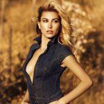Models Hailey Baldwin, Matt Trethe & Emma Stern For GUESS