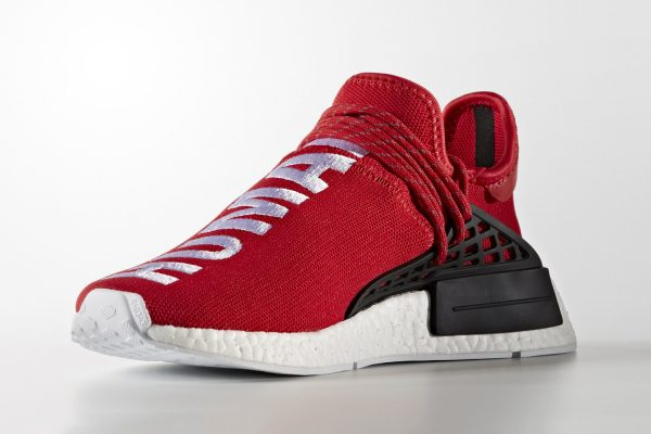 "dad005f0b5fb3 Sneaker News  Pharrell x adidas NMD ""Human Race"" New Red Colorway ..."