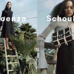 Proenza Schouler's Fall 2016 Campaign Featuring Selena Forrest & Julia Bergshoeff