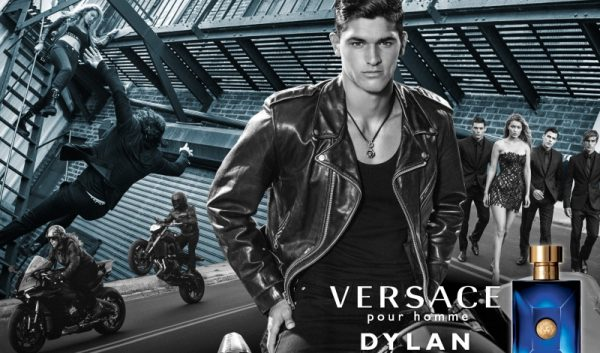 Versace Launches New Fragrance Dylan Blue