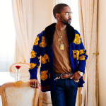 Stylin' On Em: Big Sean's Gucci Wool Bear Cardigan With Mink Collar