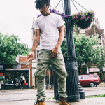 Footwork: Vic Mensa In Gucci 'Marland' Plain Toe Boots & Balmain Taiga Workwear Boots