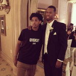 NBA Player Cameron Payne Spotted In A Givenchy Logo Tee-Shirt