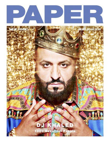DJ Khaled Covers Paper Magazine's September 2016 Issue 1