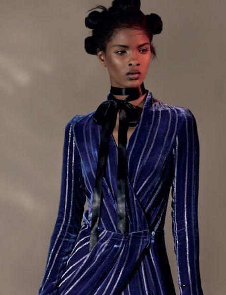 Fashion Model Thaina Os For ELLE South Africa September 2016 1