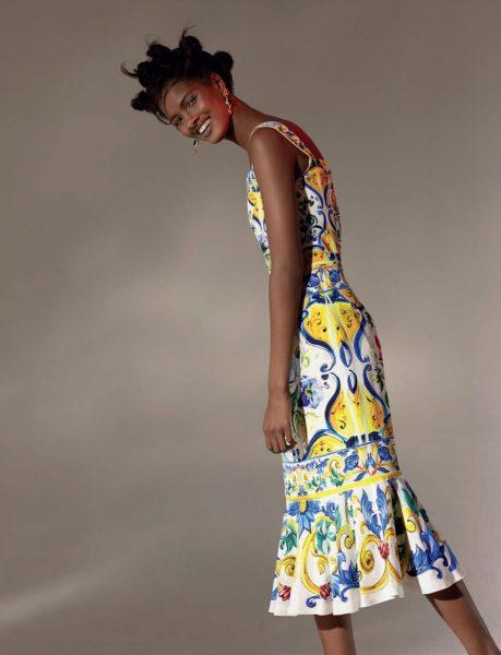 Fashion Model Thaina Os For ELLE South Africa September 2016 8