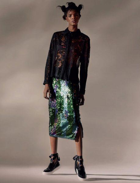 Fashion Model Thaina Os For ELLE South Africa September 2016 9