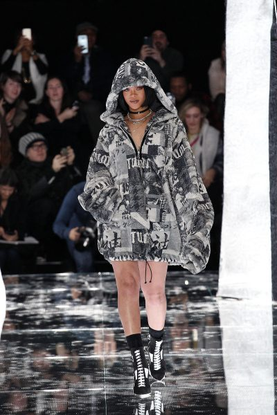 Fenty x Puma By Rihanna Fall 2016 Ready-To-Wear Collection6