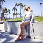 Advertising Campaign: Hailey Baldwin For Ugg Classic Street
