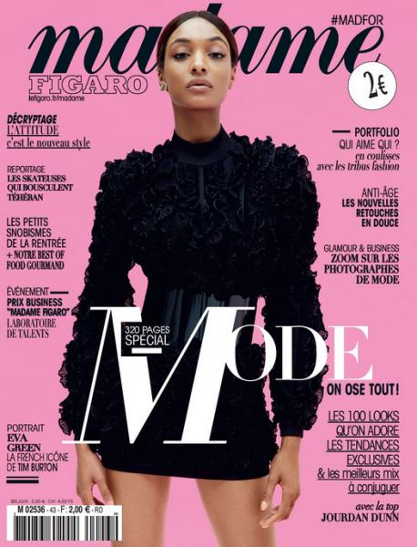 Jourdan Dunn For Madame Figaro1