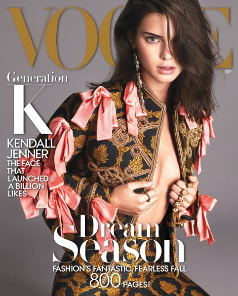 Kendall Jenner Covers The September 2016 Issue Of Anna Wintour Vogue Magazine14