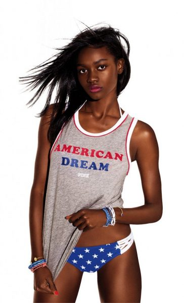 Model Zuri Tibby Named Face of Victoria's Secret Pink9