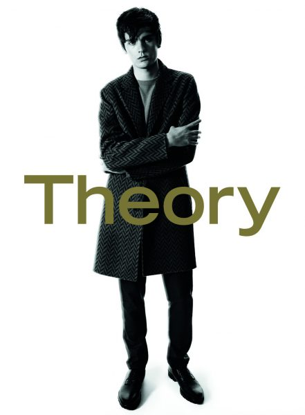 A visual from Theory's fall '16 men's campaign, shot by David Sims.