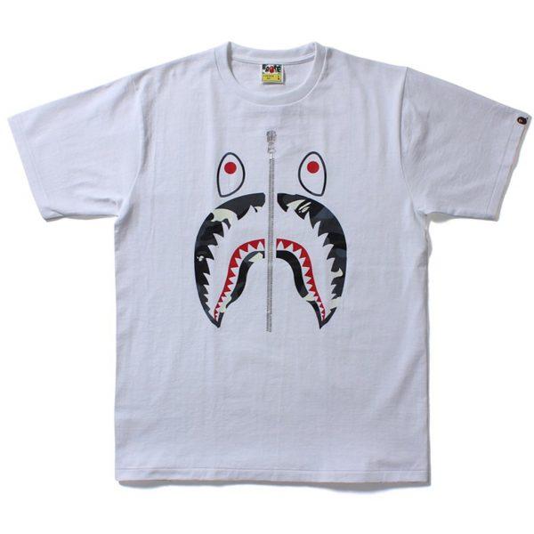 Bape City Camo Shark Tee-Shirt