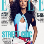 British Fashion Model Jourdan Dunn Covers Elle Brasil October 2016 Issue