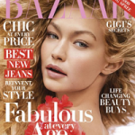 "Fashion Model Gigi Hadid Covers Harper's BAZAAR October 2016 ""Age Issue"""