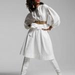 Fashion Model Imaan Hamman For Vogue Paris October 2016