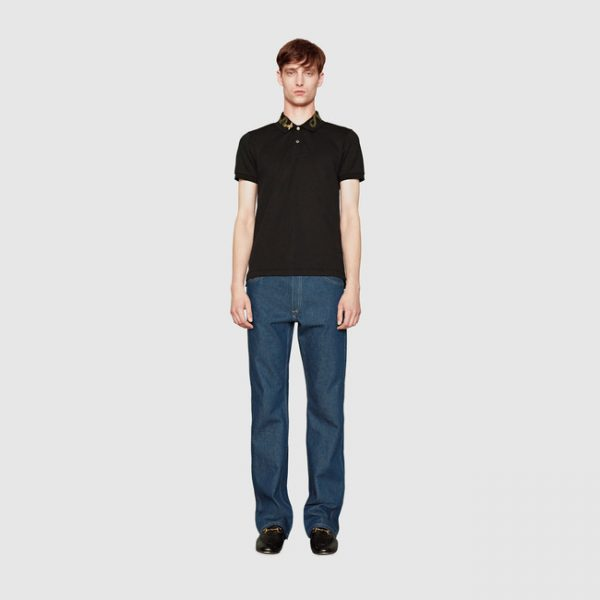 gucci-cotton-polo-with-snake-embroidery2