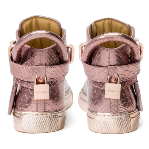jon-buscemi-womens-100mm-metal-python-rose-gold-sneakers-5