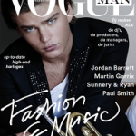 Jordan Barrett Covers Dutch Vogue Man Autumn / Winter 2016/17 Issue