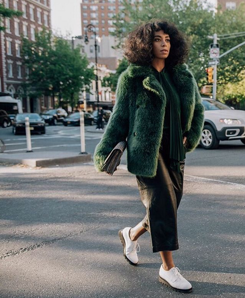 Solange Knowles Is The Face Of Michael Kors' New Street Style Campaign 1