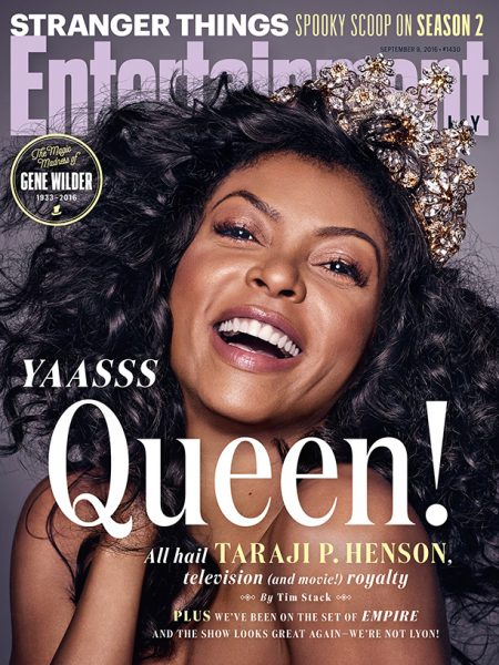 Taraji P. Henson Covers Entertainment Weekly 1
