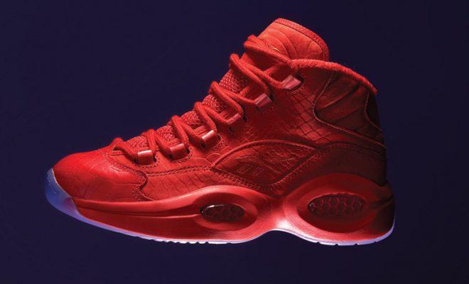Red October  Teyana Taylor x Reebok Question Mid Sneaker ... 25b84da4d