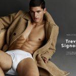 "Trevor Signorino Is Models.com's ""Model of the Week"""