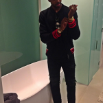 NBA Style: Tristan Thompson Wears A Gucci Jersey Bomber Jacket