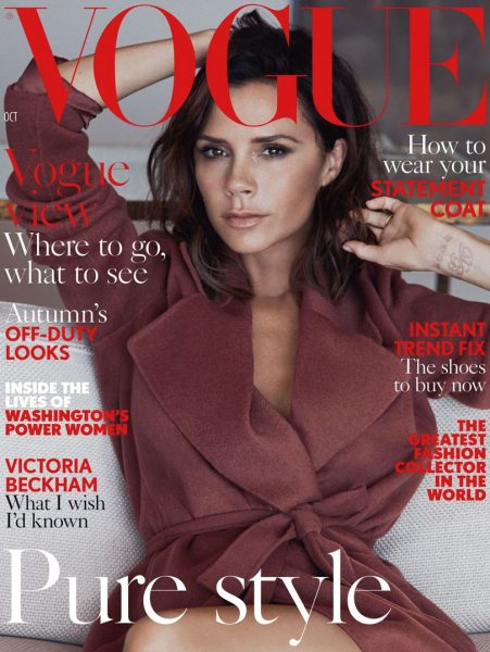 Victoria Beckham Is British Vogue's October 2016 Cover Star 1