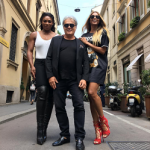 Style Icon Ciara Continues Milan Fashion Week Rounds; Links With Serena Williams, Giuseppe Zanotti And Peter Dundas