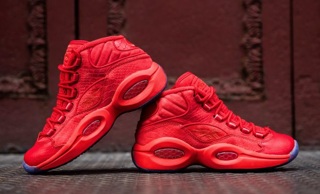 74dc765fbbe Sneaker News  Reebok Introduces The Question Mid Teyana T Designed ...