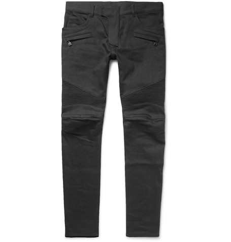balmain-skinny-fit-denim-biker-jeans1