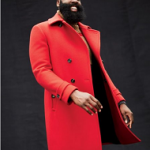 James Harden For GQ Style; Models A Salvatore Ferragamo Coat