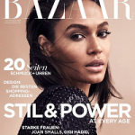 Fashion Model Joan Smalls Covers Harper's Bazaar Germany