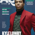 NBA Player Kyle Lowry Covers Athletes Quarterly Magazine