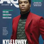 NBA Player Kyle Lowry Covers Athletes Quarterly Magazine
