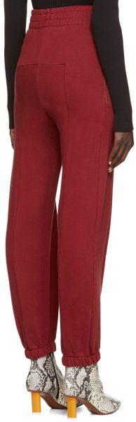 vetements-burgundy-fitted-biker-lounge-pants2