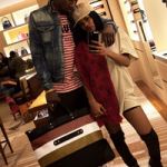 Retail Therapy: Teyana Taylor Spotted Shopping In Rick Owens Drkshdw Black Rubber Over The Knee Boots