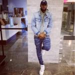 NBA Style: LeBron James Wears A John Elliott Men's Mercer Cotton Hooded Sweatshirt