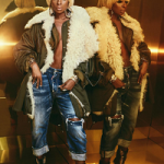 Mary J. Blige Decked Out In A Balenciaga Oversized Shearling-Lined Cotton-Twill Parka, Dsquared2 Jeans & Christian Louboutin Peep-Toe Booties