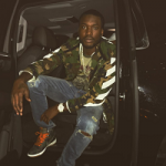 Passion For Fashion: Meek Mill Photo'd In An Off-White Camouflage Print Utility Jacket