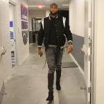 NBA Fashion: DeMarcus Cousins In Saint Laurent, Mike Amiri & Goyard