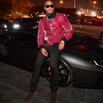 Celeb Style: Future Wears A Mike Amiri Velvet Bomber Jacket & Bottega Veneta Chelsea Boots